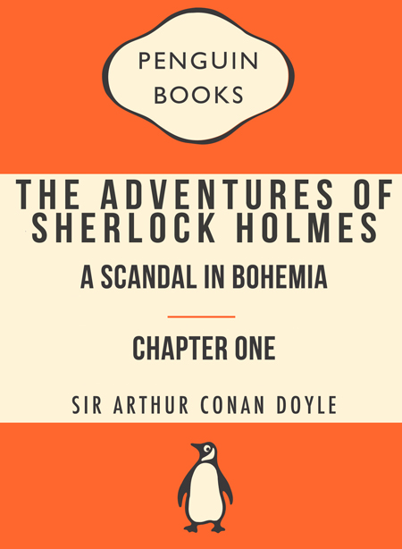 a description of the adventure of sherlock holmes and a scandal in bohemia A scandal in bohemia the adventures of sherlock holmes is a collection of twelve stories by arthur conan doyle, featuring his famous detective they were ori.