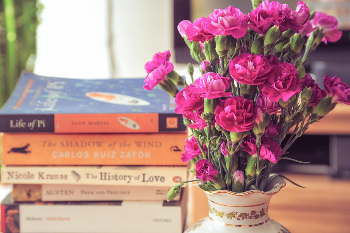 Books & Carnations